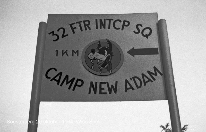 32ndFIS CampNA SB20Oct64 WSnel